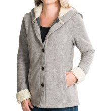 White Sierra Three Creeks Hooded Jacket (For Women) in Humus - Closeouts