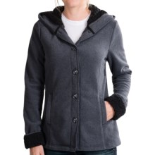 White Sierra Three Creeks Hooded Jacket (For Women) in Titanium - Closeouts