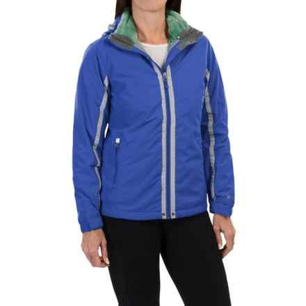 White Sierra Three Reasons Jacket - Waterproof, 3-in-1 (For Women) in Ice Blue - Closeouts