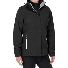 White Sierra Three-Seasons Jacket - 3-in-1 (For Women) in Black - Closeouts