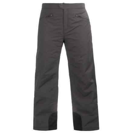 White Sierra Toboggan Snow Pants - Insulated (For Plus Size Women) in Asphalt - Closeouts