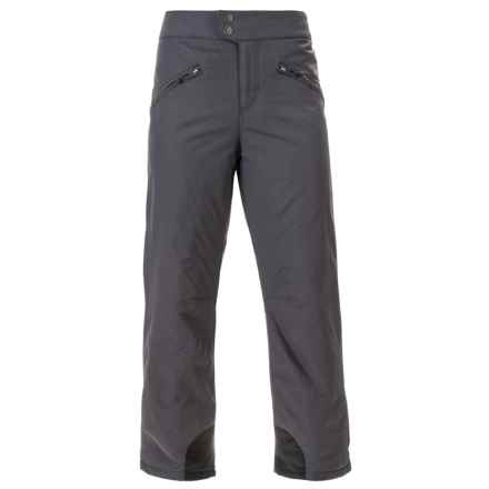 White Sierra Toboggan Snow Pants - Insulated (For Women) in Asphalt - Closeouts