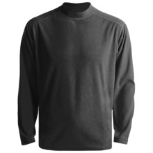 White Sierra Tongass Pullover Mock Turtleneck - Microfleece, Long Sleeve (For Men) in Black - Closeouts