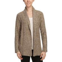 White Sierra Top Notch Cardigan Sweater (For Women) in Stone - Closeouts