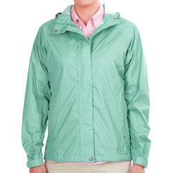 White Sierra Trabagon Jacket - Waterproof (For Women) in Emerald Island