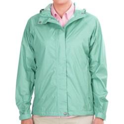 White Sierra Trabagon Jacket - Waterproof (For Women) in Pink Sunset