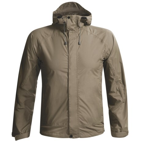 White Sierra Trabagon Rain Gear Jacket - Waterproof (For Men) in Black