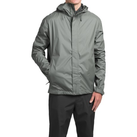 White Sierra Trabagon Rain Gear Jacket - Waterproof (For Men) in Dark Grey