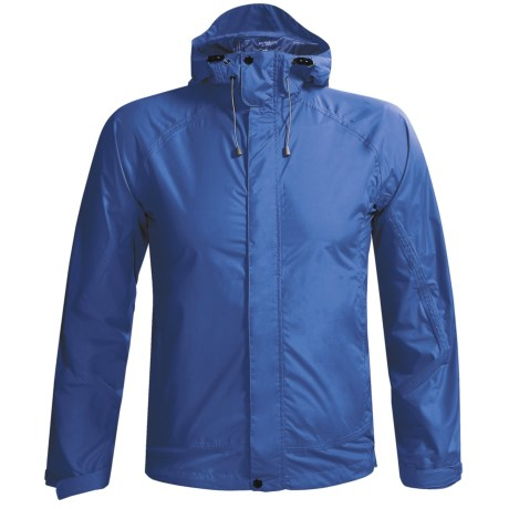 White Sierra Trabagon Rain Gear Jacket - Waterproof (For Men) in Nautical Blue