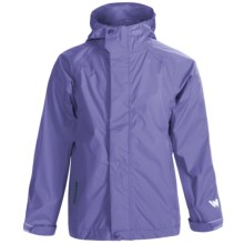 White Sierra Trabagon Rain Jacket - Waterproof (For Big Kids) in Periblue - Closeouts