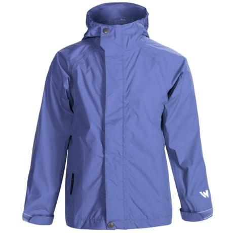 White Sierra Trabagon Rain Jacket - Waterproof (For Big Kids) in Purple Rain