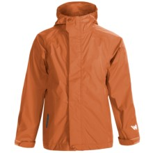 White Sierra Trabagon Rain Jacket - Waterproof (For Big Kids) in Spice - Closeouts