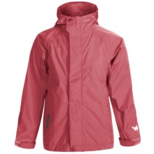 White Sierra Trabagon Rain Jacket - Waterproof (For Big Kids) in Watermellon - Closeouts