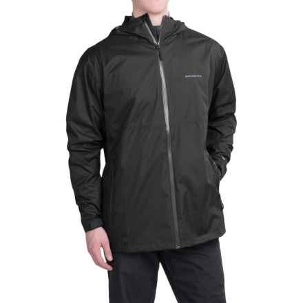White Sierra Trabagon Rain Jacket - Waterproof (For Men) in Black - Closeouts