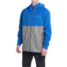 White Sierra Trabagon Rain Jacket - Waterproof (For Men) in Nautical Blue/Dark Grey - Closeouts