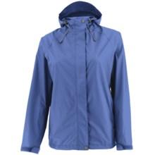White Sierra Trabagon Rain Jacket - Waterproof (For Plus Size Women) in Purple Rain - Closeouts