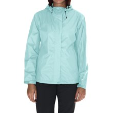 White Sierra Trabagon Rain Jacket - Waterproof (For Women) in Clear Water - Closeouts