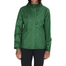 White Sierra Trabagon Rain Jacket - Waterproof (For Women) in Fir - Closeouts