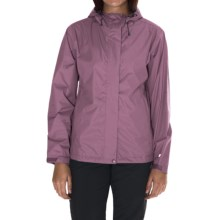 White Sierra Trabagon Rain Jacket - Waterproof (For Women) in Grape - Closeouts
