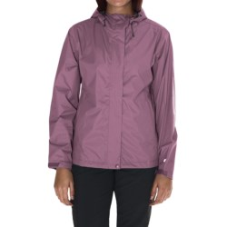 White Sierra Trabagon Rain Jacket - Waterproof (For Women) in Grape