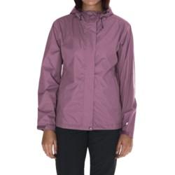 White Sierra Trabagon Rain Jacket - Waterproof (For Women) in Grape