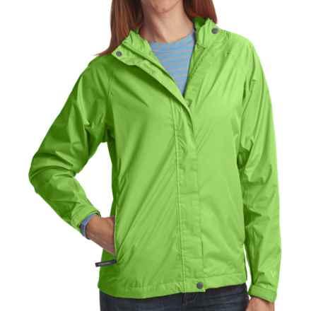 White Sierra Trabagon Rain Jacket - Waterproof (For Women) in Greenery - Closeouts