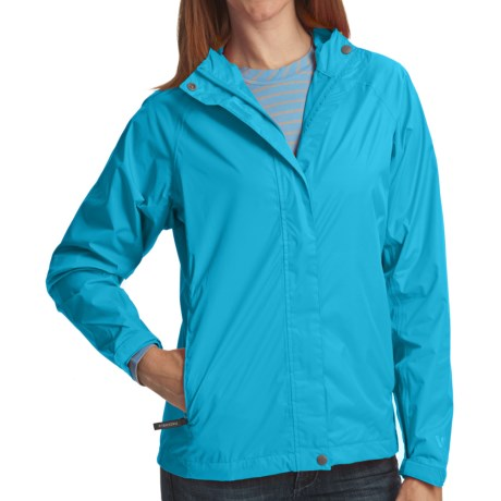 White Sierra Trabagon Rain Jacket - Waterproof (For Women) in Horizon Blue