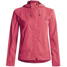 White Sierra Trabagon Rain Jacket - Waterproof (For Women) in Lipstick - Closeouts