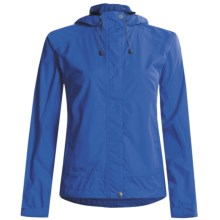 White Sierra Trabagon Rain Jacket - Waterproof (For Women) in Nautical Blue - Closeouts