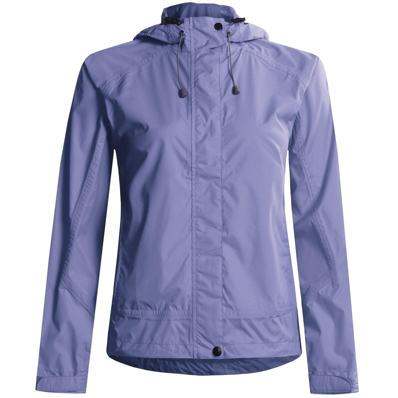 White Sierra Trabagon Rain Jacket - Waterproof (For Women) in Sapphire