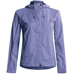 White Sierra Trabagon Rain Jacket - Waterproof (For Women) in Black