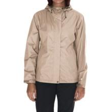 White Sierra Trabagon Rain Jacket - Waterproof (For Women) in Silver Grey - Closeouts