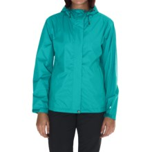 White Sierra Trabagon Rain Jacket - Waterproof (For Women) in Vivid Greeen - Closeouts