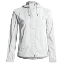 White Sierra Trabagon Rain Jacket - Waterproof (For Women) in White - Closeouts