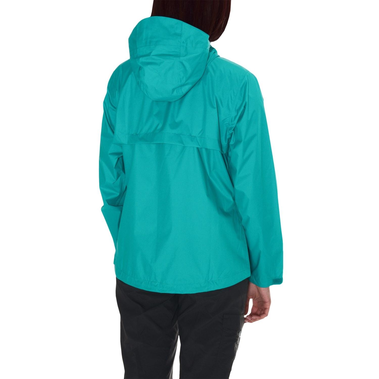 White Sierra Trabagon Rain Jacket For Women Save 66