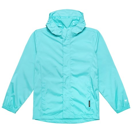 White Sierra Trabagon Rain Jacket - Waterproof (For Youth) in Blue Radiance