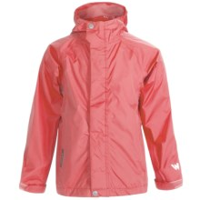 White Sierra Trabagon Rain Jacket - Waterproof (For Youth) in Coral Red - Closeouts