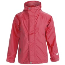 White Sierra Trabagon Rain Jacket - Waterproof (For Youth) in Lipstick - Closeouts