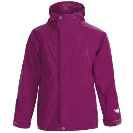 White Sierra Trabagon Rain Jacket - Waterproof (For Youth) in Purple - Closeouts