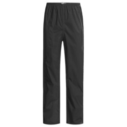 White Sierra Trabagon Rain Pants - Waterproof (For Men) in Black
