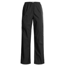 White Sierra Trabagon Rain Pants - Waterproof (For Women) in Black - Closeouts
