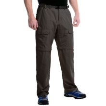 White Sierra Trail Pants - UPF 30, Convertible (For Men) in Dark Sage - Closeouts