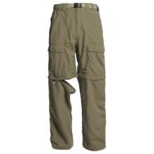 White Sierra Trail Pants - UPF 30, Convertible (For Men) in New Sage - Closeouts