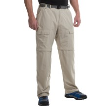 White Sierra Trail Pants - UPF 30, Convertible (For Men) in Stone - Closeouts