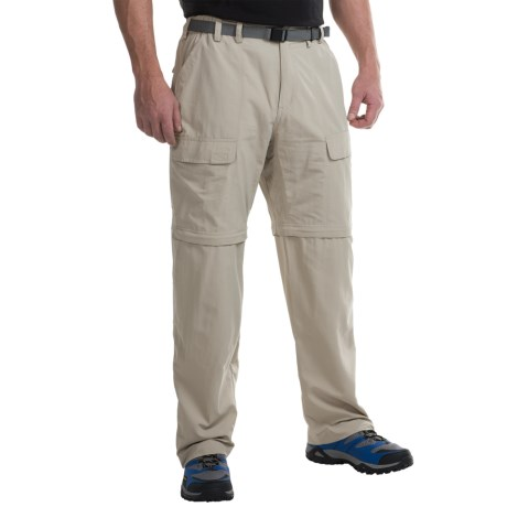 White Sierra Trail Pants - UPF 30, Convertible