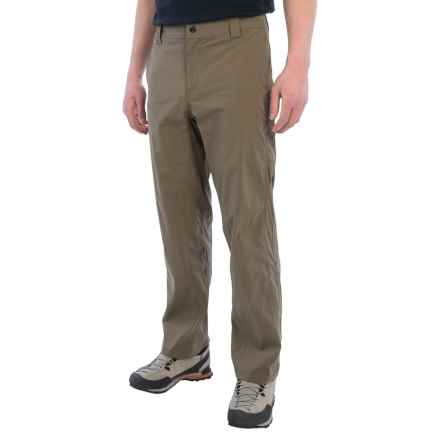 White Sierra Traveler Pants - Stretch Nylon (For Men) in Dark Bark - Closeouts