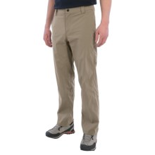 White Sierra Traveler Pants - Stretch Nylon (For Men) in Khaki - Closeouts