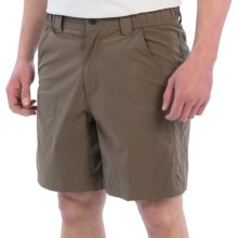 White Sierra Traveler Relaxed Waist Shorts (For Men) in Dk Bark - Closeouts