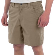 White Sierra Traveler Relaxed Waist Shorts (For Men) in Khaki - Closeouts