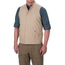 White Sierra Traveler Vest - UPF 30, Packable (For Men) in Khaki - Closeouts